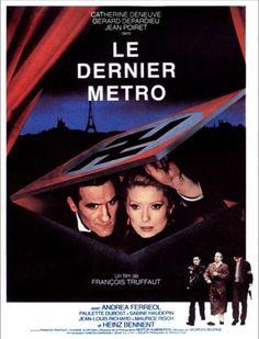 Affiche du film Le Dernier Métro