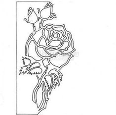 Kirigami Greeting Card with Rose and Butterfly2