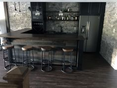Insanely Cool Basement Bar Ideas for Your Home. Well, for those of you who want to build basement bar in your home, keep in mind that the interior design bar can not be in number two, because the co. Cave Man, Man Cave Home Bar, Basement Renovations, Home Renovation, Home Remodeling, Basement Bar Designs, Home Bar Designs, Basement Ideas, Home Decor