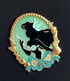TDR Japan Tokyo Disney Resort Pin 2014 - Princess Silhouette series Ariel