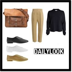 A fashion look from February 2015 featuring long sleeve shirts, zipper pants and jazz shoes. Browse and shop related looks. Daily Look, Shoe Bag, Polyvore, Stuff To Buy, Shopping, Collection, Shoes, Design, Women