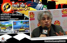 GONG [CRAZY TAXI] Rencontre avec Kenji Kanno le créateur du jeu le plus déjanté du marché à l'occasion de la sortie du nouvel opus ! www.gongnetworks.com