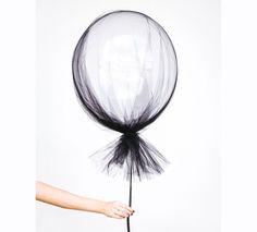 DIY: Tulle Covered Balloons on www.childmagsblog.com