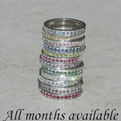 Sterling Silver Mothers Ring .  Thinking of getting one for each of my boys and any other little Weller's that come along.