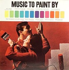 Cute Vintage Album Covers: Music to Paint By