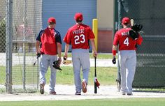 Schumaker, Freese and Molina leaving practice!!