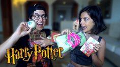 Probando Dulces de Harry Potter | YellowMellow y María Cadepe