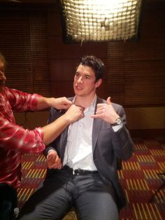 captainsass87:  Crosby being mic-ed up for a segment for NHL: Revealed