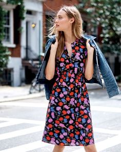 Introducing the J.Crew women's painted pansy print.
