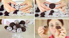 BISCOTTI AL CIOCCOLATO Ricetta Facile - Easy Chocolate Biscuits Recipe