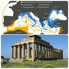 In the first half of the first millennium BCE, Greek city-states began to look outside of Greece for land and resources, and so they founded colonies across the Mediterranean. Trade contacts were usually the first steps in the colonization process and then, later, once local populations were subdued or included within the colony, cities were established. The cities had varying degrees of contact with the homeland, but most became fully independent city-states. (Info by Mark Cartwright)…