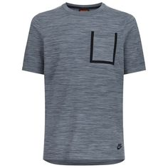 Nike Tech Knit Pocket T-Shirt (285 BRL) ❤ liked on Polyvore featuring men's fashion, men's clothing, men's shirts, men's t-shirts, mens pocket t shirts, mens knit shirts, nike mens shirts and nike mens t shirts
