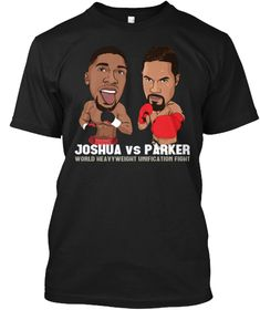 Joshua Vs Parker Black T-Shirt Front