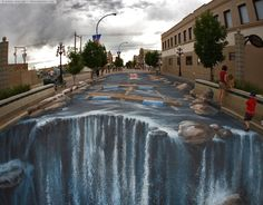 Street art illusions by Julian Beever
