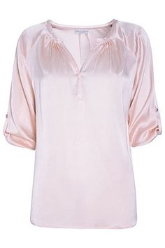 Dea Kudibal Seiden Bluse NATALI rosa, verfügbar bei www.myschnuck.de