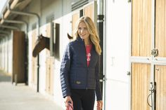 This jacket is ideal for early spring riding.