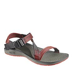 """Chaco """"Mighty"""" Sandals in Deep Dive Red. #isischacoadventuregirl"""