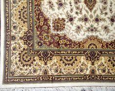 Qum Erami 5x7 Persian Pure Silk Area Rug Qum (3)