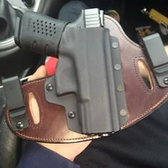 @Dalton1091 Sporting his new black Kydex on brown leather holster for his Glock, custom made here in the U.S.A. by Hidden Hybrid Holsters!    #hiddenhybridholsters #starkarmsllc #iwb #owb #2a #concealedcarry #alwaysready #photooftheday #glockporn #pachmayrgripgloves