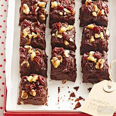 Traditional homemade fudge requires a close eye on the candy thermometer and a strong arm for heavy stirring. Our quick cherry-walnut version practically makes itself!/