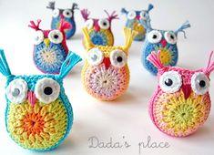 Crochet Owls [FREE Crochet Pattern + Photo Tutorial]