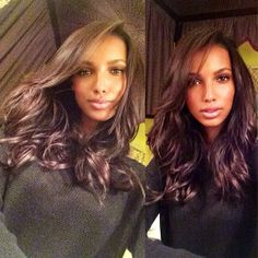 i want this hair color - Jasmine Tookes