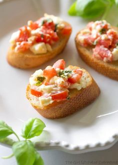 Share Tweet Pin Mail This Tomato Feta Bruschetta is a flavor party in your mouth! An impressive appetizer that's so easy. Every time I say ...