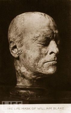 Souvent William Blake death mask. | A Mask to Hide Behind | Pinterest  WR47