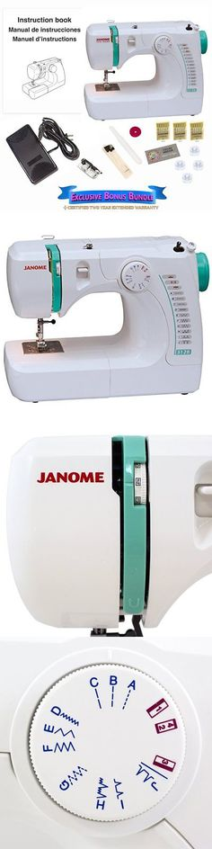 Sewing Machine Needles 41247: Janome 3128 Sewing Machine Bundle With 3 Packs Of Size 12 Needles -> BUY IT NOW ONLY: $179.52 on eBay!