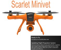 USA Direct | Wingsland Scarlet Minivet 5.8G FPV With HD Camera RC Quadcopter