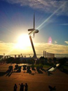 Torre Calatrava - Barcelona City Tour