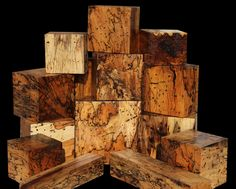 HEAVILY SPALTED TAMARIND: UNIQUELY VEINED Spalted Tamarind is originally from Africa but has been planted Worldwide.  Our stock was grown in Laos.  Our spalted stock is hand selected for only the finest color & figure! www.cookwoods.com