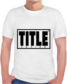 Title boxing- erkek tişört Kendin Tasarla - Erkek Bisiklet Yaka Tişört