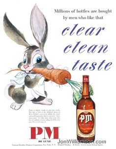 11 Crazy Old Whiskey Ads That Are Clearly Drunk