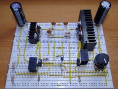Contents1 Circuit Diagram2 Components Required3 Component Description3.1 TDA20303.2 BD708 and BD705 (NPN and PNP)4 Circuit Design of 200W Audio Amplifier5 Working6 Power Supply Requirements7 Related Articles Audio Amplifiers are being used for decades. The main function of an audio amplifier is to reproduce the input audio signal at sound producing systems like speakers with desired …