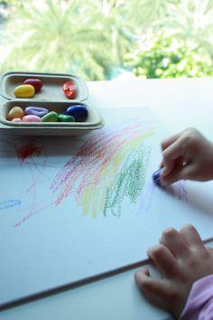 Crayon rocks to draw vibrant colours