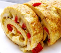 Looking for lunch recipes? has healthy lunches ideas ranging from soups and salads to chicken lunch recipes and kids dinner ideas. Chicken Lunch Recipes, Quick Lunch Recipes, Breakfast Recipes, Breakfast Ideas, Waffle Sandwich, Baked Rolls, Breakfast On The Go, Cooking Recipes, Vegan Recipes