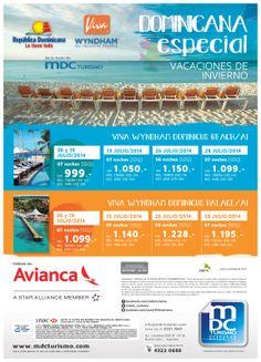 publicidad gráfica para MDC Turismo y Viva Hotels