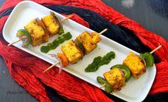 UK Rasoi : Paneer tikka - made in pan, no oven or grill