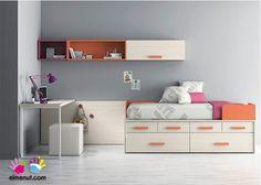 dormitorio juvenil con compacto
