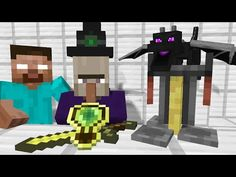 Monster School: Drawing - Minecraft Animation - YouTube