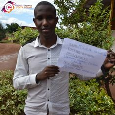 Meet Mugisha, a participant of a Rwandan youth forum. He chose 'vaccinate against cervical cancer' as his high priority, and 'allow more migration' as his low priority for the post-2015 development agenda.