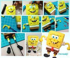 Spongebob Squarepants Fondant Tutorial
