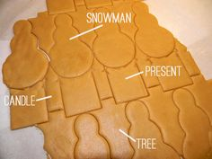 Make several cookies with a single cut--new cookie cutter coming out that streamlines rolled-and-cut cookies and minimizes scraps. I think this is very smart.