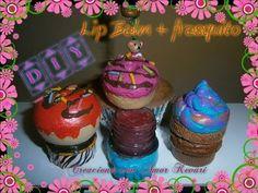 Pastillero hecho con tapas de refresco+ Bálsamo labial / DIY: Lip Gloss container - YouTube