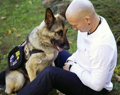 Jason Haag's life was being destroyed by PTSD until he met Axel.