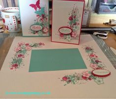 Scrappy Happy: Gorgeous grunge and petite petals scrapbook page and matching card