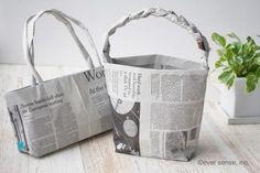 新聞紙 簡単工作 幼児向け おもちゃ 手作り オリジナルバッグ