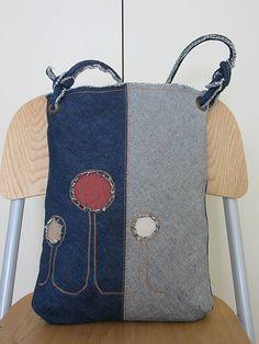 Džínsová taška / Ines.ru - SAShE.sk - Handmade Veľké tašky