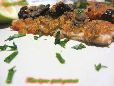 Filetti di pesce spatola gratinati. Bontà del pesce azzurro in Sicilia.